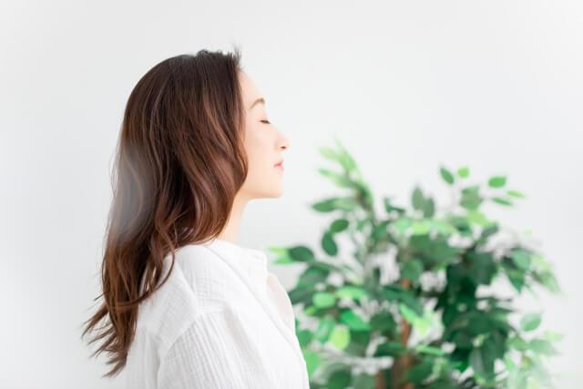 美肌の女性のイメージ画像