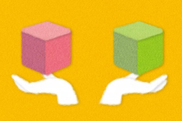 比較のイメージ画像